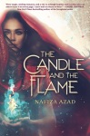 The Candle And The Flame by Nafiza Azad book cover