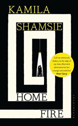 Home Fire by Kamila Shamsie book cover