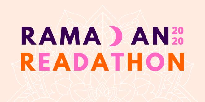 Ramadan Readathon 2020 blog header